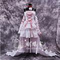 Alta calidad Pandora Hearts Alice Cosplay Sexy vestido Anime Cosplay disfraces vestido Lolita uniformes traje de Halloween