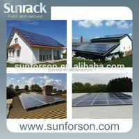 effective cost tile roof solar panel mounting bracket