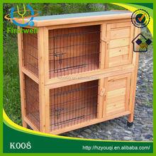 2 storey rabbit hutch good quality