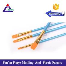 4pcs Synthetic fiber wooden handle professional wholesale artist brush
