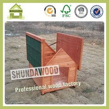 SDD04 Promotional Wooden Dog and Puppies Kennel for Sale