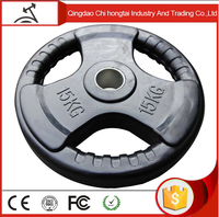 Weight Lifting Rubber Plate/Rubber Coated Barbell Weight Plates/wholesale weight palte