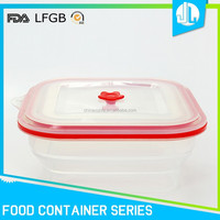Eco-friendly stackable sample containers for food
