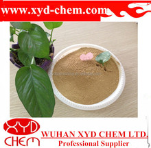 yellow Concrete calcium lignosulphonate for pelleting agent for animal feed