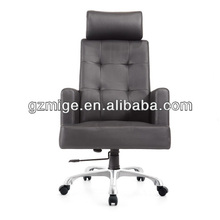 New Arrival Black Leather Seating for Modern Office
