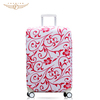 2015 Hot selling abs printed cheap hard shell luggage