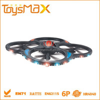Most Popular 4-Axis Gyro System 2.4GHz 6CH RC Quadcopter, model aircraft from china