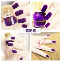 Velvet designs/ villus Nail Decoration /Fuzzy Flocking Velvet nail art tips