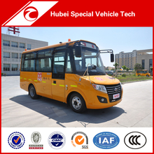 19 seater LHD yellow used kindergarten school bus for sale