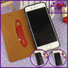 Wholesale wallet leather case for iphone 6 4.7 megnetic flip leather wallet case for iphone 6 plus 5.5 inch
