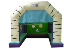 the best selling 3D World Cup Inflatable Combi with fitted raincover