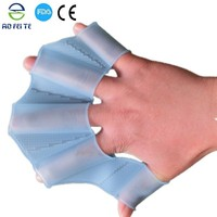 Wholesale Alibaba For 2015 Silicone Swimming Web Fins Hand Flippers Training Gloves for swimming