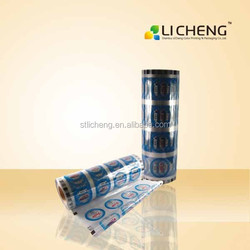 High quality and custom print cup sealer film/pp cup sealing film