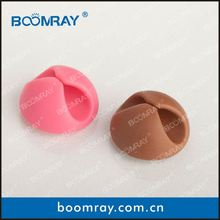 boomray factory 2014 hot selling TPR cable clips winder multipurpose death note gifts