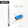 Shenzhen PAIPU original factory selling ego v v2 battery with LED digital screen ego vv2