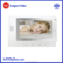 """Hot sale item: 7"""" wired video door phone with competitive price"""