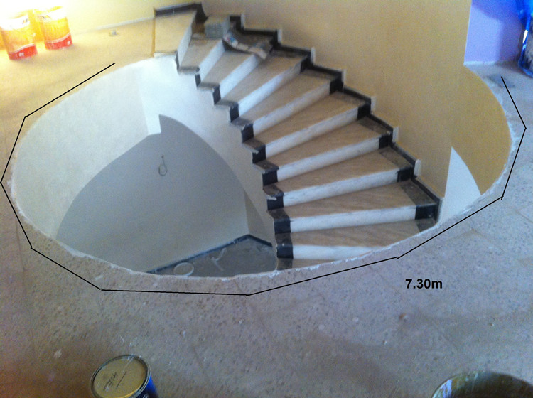 crystal indoor spindle stair railing