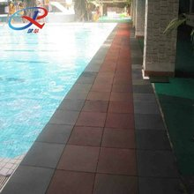Outdoor Rubber Floor for Swimming Pool