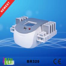lipo laser slimming machine / i lipo machine for sale / cavitation RF laser diode lipolaser freezing fat equipment