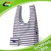 Customized Promotional Supermarket Shopping Polyester Foldable Shopping Bag