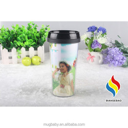 Factory Wholesale Personalized Photo Plastic Cups For Kids