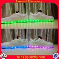 Albania rubber soles led flashing shoe mountain led flashing shoe