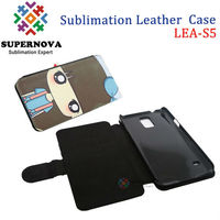 Sublimation Leather Case Cover for Samsung Galaxy S5