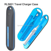 Best Selling Travel Charger Case UV Toothbrush Sanitizer