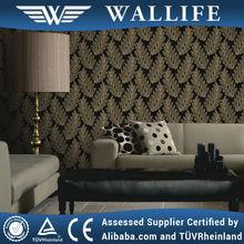 SF020605 / 2014 european design wallpaper leaf wallpaper