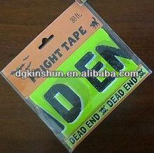 Halloween fright tape green tape