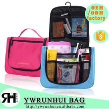 Cheaper Price Portable Travel Toiletry Bag Hanging Travel Toiletry Kits Cosmetic Organizer Bag