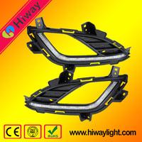 Hot sale supply !!! Auto accessories for Hyundai Elantra 2013-2015 car led drl fog light