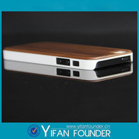 Original for apple iPhone 5 with real natural bamboo /wood case + pc protective wooden case cover