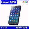 Original New Lenovo smart phone S850 3G Smartphone MTK6582 Quad Core Android 4.4 1G RAM 16G ROM IPS Lenovo S850 cell phone