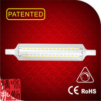 linear glass dimmable led R7S 118mm chinese sex tube tubes8 led light tube