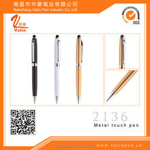 Best sales metal high quality ballpoint pen with stylus for phone /ipad