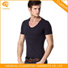 Men White v Neck t- Shirt,v-Neck Collar t-Shirt,Short Sleeve Shirts