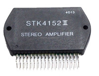 Thick Film Hybrid IC STK4152II AF Power Amplifier Split Power Supply