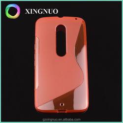 Tpu bumper cell phone case for moto X style X pure edition XT1572 XT1570