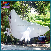 NB-HW2017 Ningbang scared cheap inflatable halloween white hanging ghoat for holiday decoration