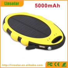 Solar Energy Charger, Mobile Phone Solar Power Charger 5000 for traveling, hiking, camping