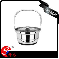 6.8L Stainless Steel Energy -Saving Pot /Gas Pot Electric Pot double Usege/Fire-Free Reboiler