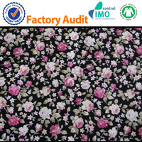 100% Cotton printing garment fabric wholesale