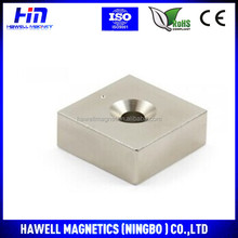 High performance permanent neodymium magnet block shape(RoHS)