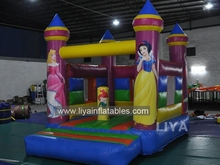 gaint Commercial jungle inflatable castle/backyard inflatable jumper/princess inflatable bouncers