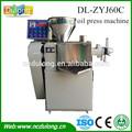 Caliente venta DL-ZYJ60C pequeña máquina aceite prensado en frío
