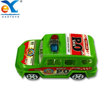 Shantou Factory Direct Sale Baby Plastic Friction Police Car Toy