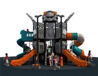 2015 new cheap children super outdoor playground slide equipment