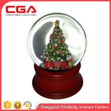 greatful decorative glass water ball christmas handicrafts