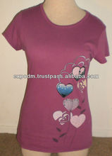 Purple T-shirt Size Extra Small women's clothes